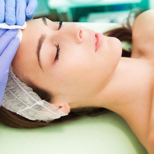 Flat Rock Aesthetics face treatment